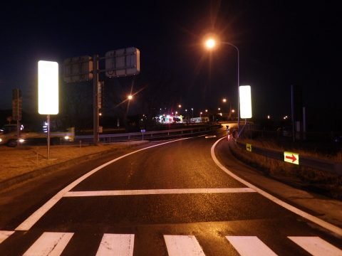 初めての高速道路(2020年新入社員:三田)